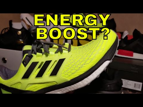 "Unbox Them Copps - Adidas Energy Boost 4 (2017) ""Solar Yellow"""