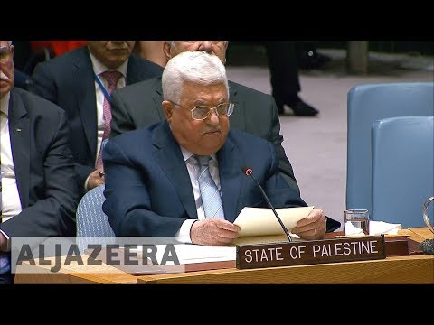 ??Abbas calls for international peace conference at UNSC