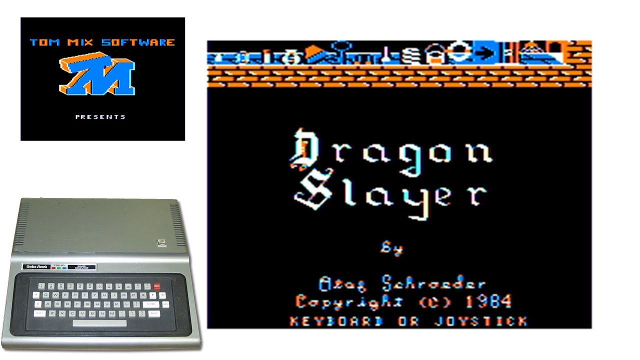 Dragon Slayer - 1984 - TRS-80 Color Computer Game