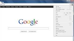 How to get google Chrome Home button