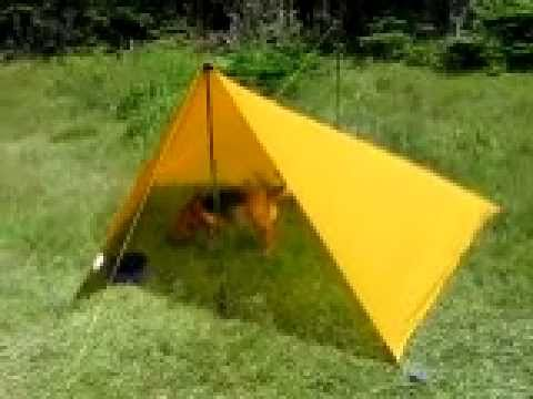 & Mountain Equipment Coop Silicone Scout Tarp - YouTube
