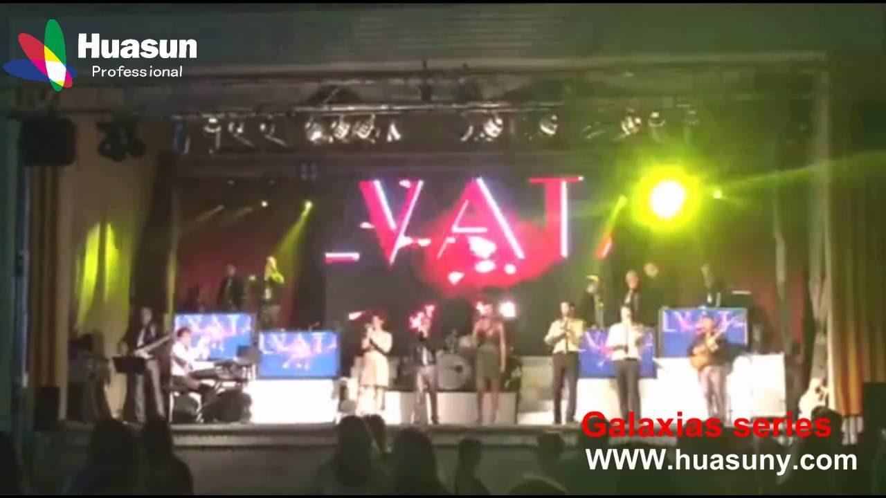 Led curtain concert - Huasun P9 Hd Soft Led Screen 16 9 Led Curtain For Tour Theater Events Dj