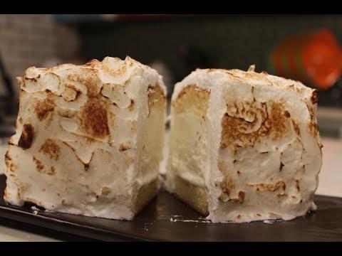 Baked Alaska   Sanjeev Kapoor Khazana