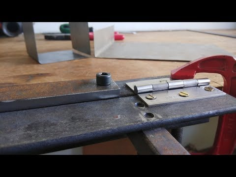 DIY Sheet Metal Bending Tool || Sheet Metal Brake