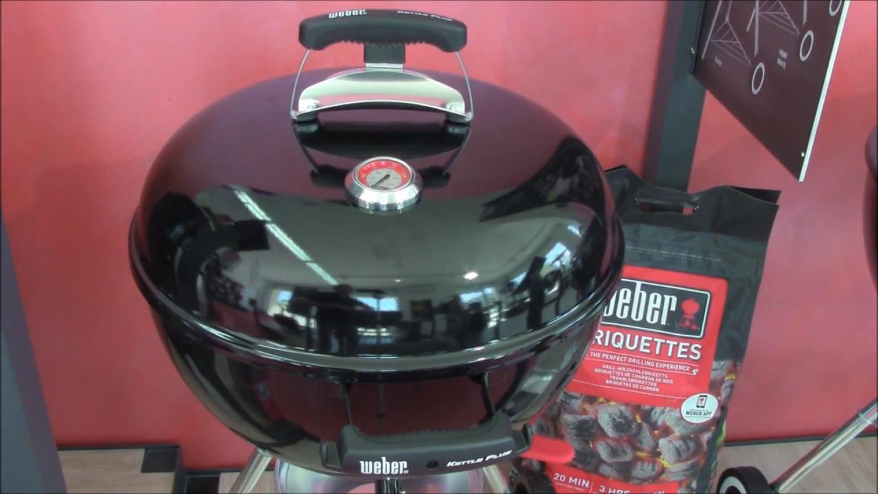 barbecue weber original kettle plus 47 cm recensione barbecuemania it youtube. Black Bedroom Furniture Sets. Home Design Ideas