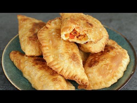 How to Make Empanadas from Scratch - Chicken Empanadas - Empanadas Dough Recipe
