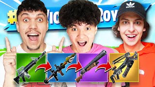FORTNITE GUN GAME with the FAZE HOUSE