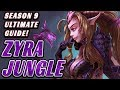 Rank Up With Zyra Jungle - Season 9 Ultimate Guide (With New Runes!)