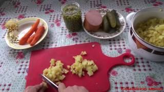 Бюджетный салат Оливье на Новый Год