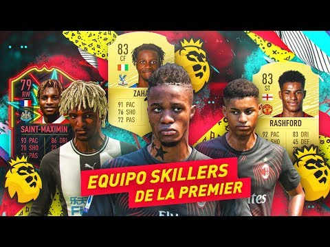 Equipo SKILLERS con Zaha, Rashford y Allan Saint-Maximin - FIFA 20 PREMIER LEAGUE - 동영상