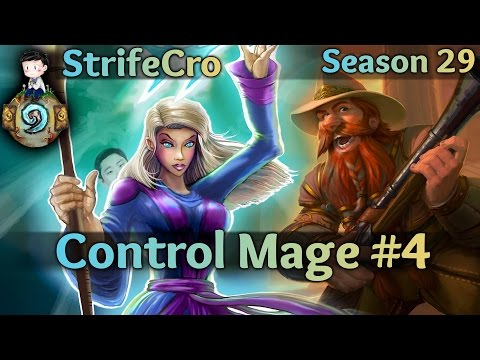 Hearthstone Control Mage S29 #4: Shh It's a Secret