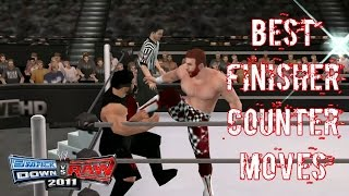 best finisher counter moves