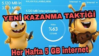 Turkcell Bedava   5 Gb   İnternet Kazan   En Hizli Puan YÜkseltme TaktİĞİ   2019