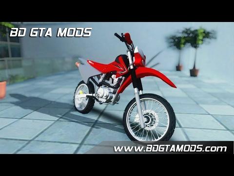GTA SA - Honda CRF 230 F + Ronco