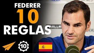 Roger Federer: 10 Reglas para el éxito en la vida