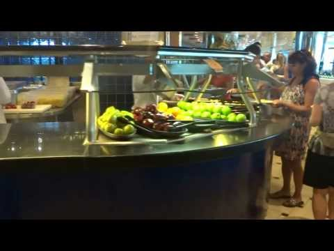 Royal caribbean adventure of the seas area de comida