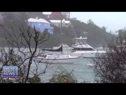 Boats In & After Hurricane Gonzalo, October 18 2014
