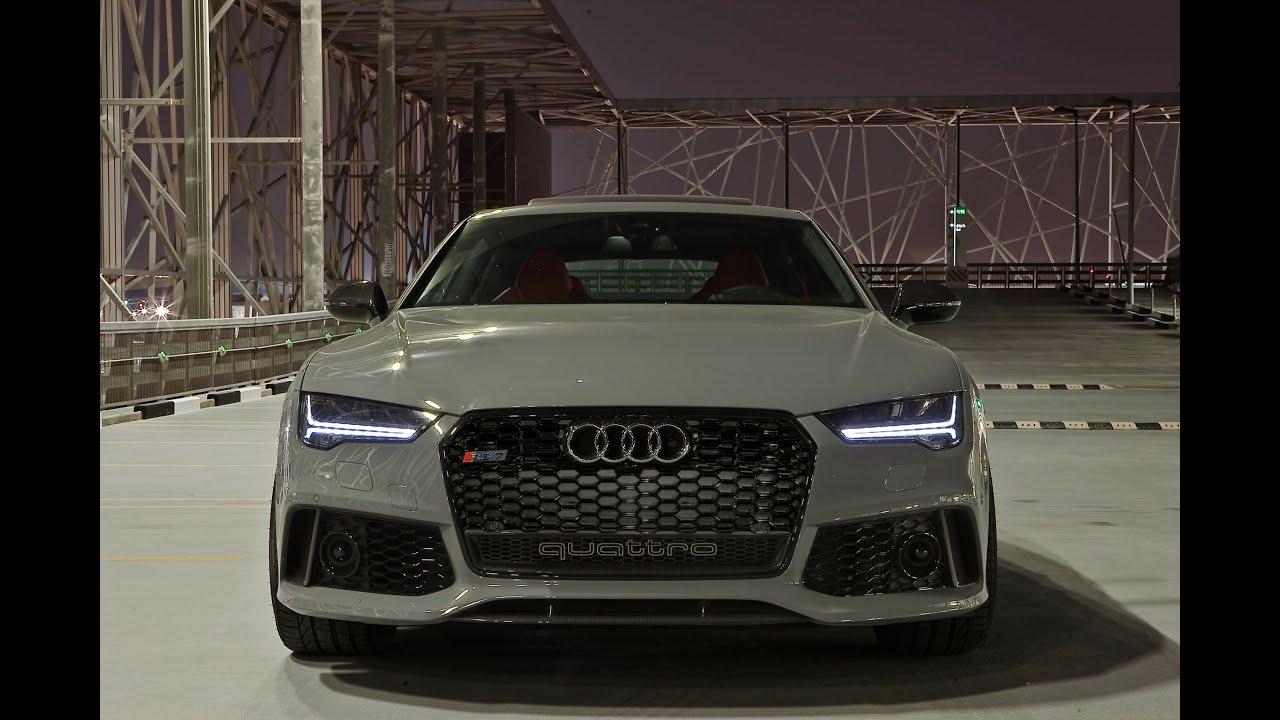 2017 Audi RS7 Sportback - brutal sound - YouTube