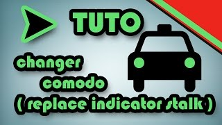 TUTO changer comodo (how to replace indicator stalk)