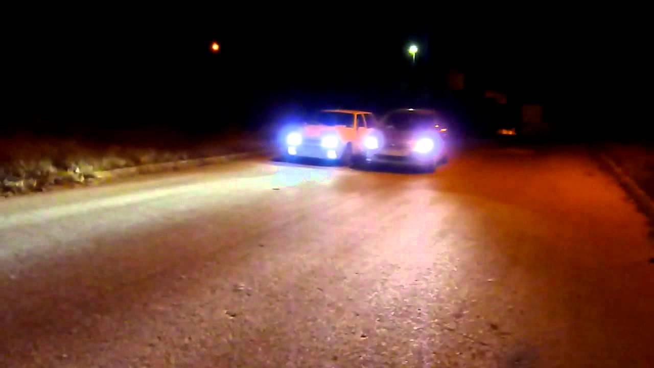 Peugeot 307 Halogen White Bulbs Vs Fiat Uno Bi