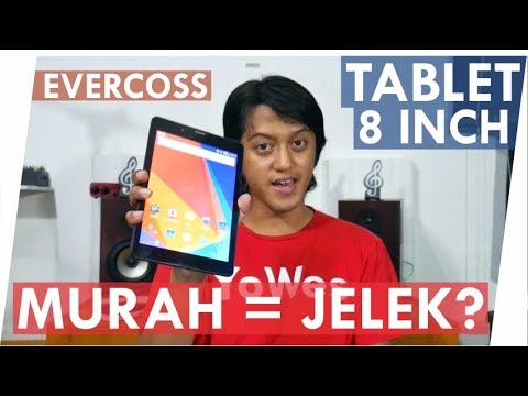 Tablet Murah Bagus? 8 Inch Evercoss Winner Tab V - AT8B Unboxing & First Impression