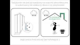 Jak wykończyć komin nad dachem
