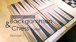 How to make Backgammon and Chess board - Episode 1