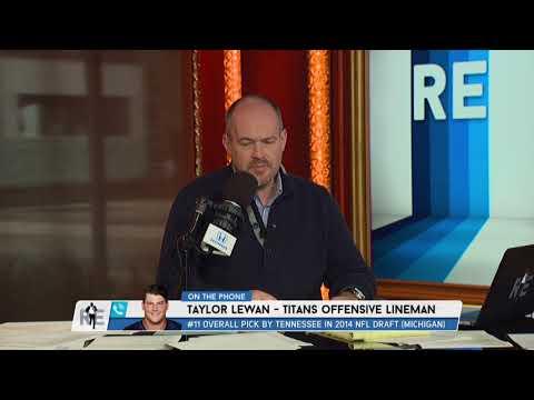Titans OT Taylor Lewan on Darrelle Revis Avoiding Contact w/Derrick Henry | The Rich Eisen Show