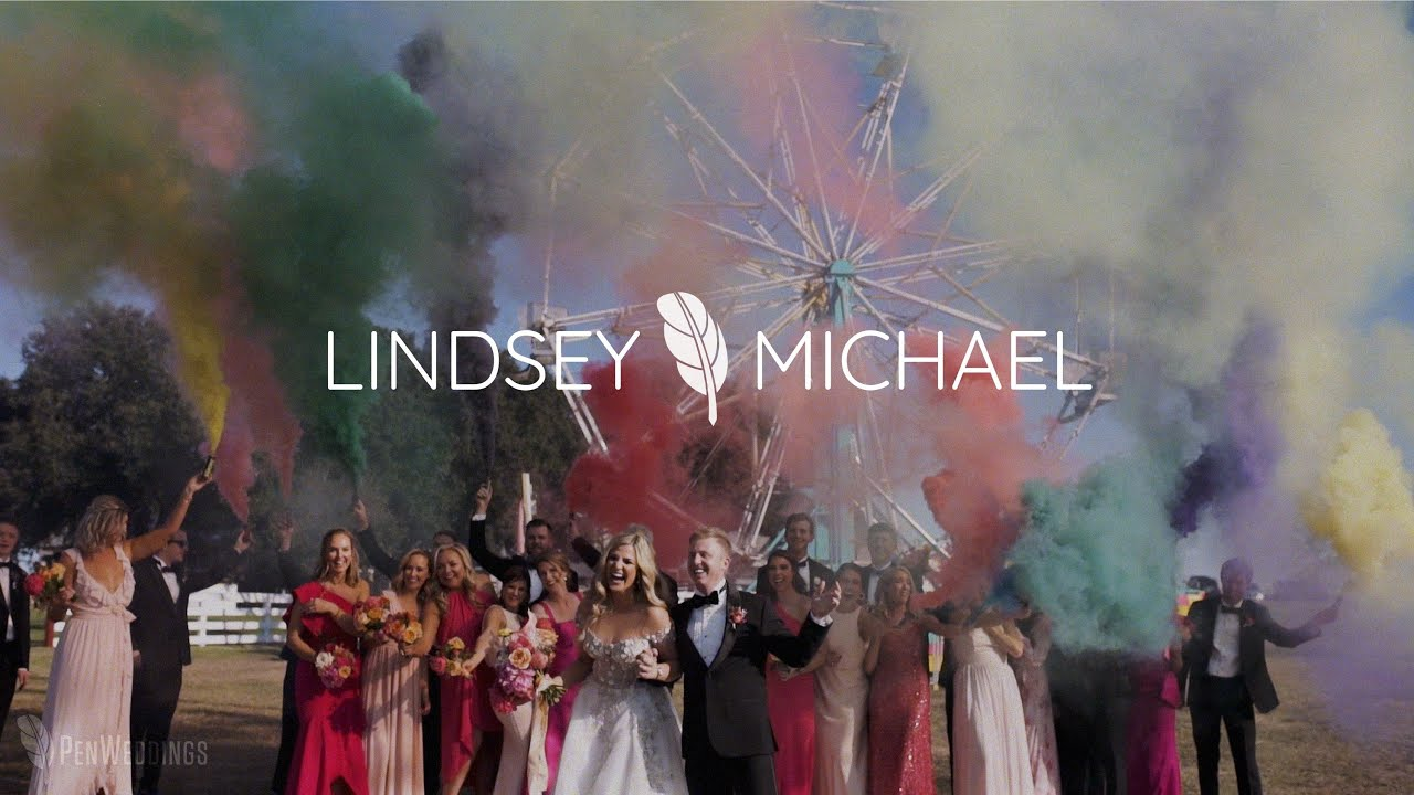 Colorful, Christ-centered wedding | Texas wedding video | Groom cries when he sees his bride
