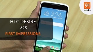 HTC Desire 828: First Look | Hands on | Price
