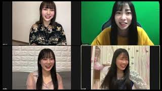 NMB48 #石塚朱莉 #南波陽向 #前田令子 #安田桃寧 2021年3月24日.