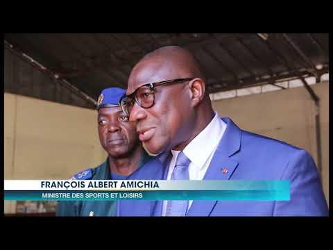 8e jeux de la francophonie : Le ministre Amichia visite les athlètes
