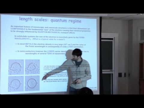 Quantum Transport, Lecture 2: Energy and Length Scales