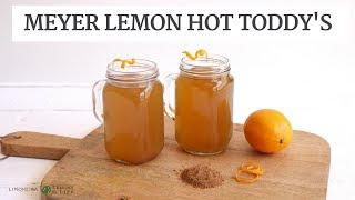Meyer Lemon Hot Toddy | Hot Fall Beverage Recipe | Limoneira