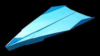How to make a Good Paper Airplane that Flies Far - Papierflieger falten | Cooper