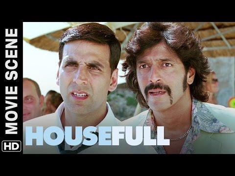 Tumhare saath god is joking | Housefull | Movie Scene