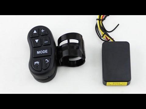 рулевое Bluetooth управление магнитолой