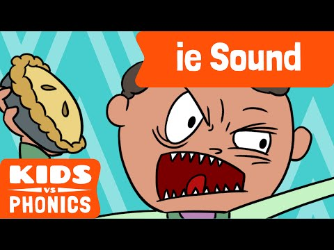 ie | Fun Phonics | How to Read | Made by Kids vs Phonics
