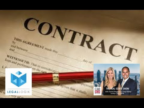 CJAD's The Real Estate Show - Feb 25 2018 - Demystifying Contracts with Legal Logik