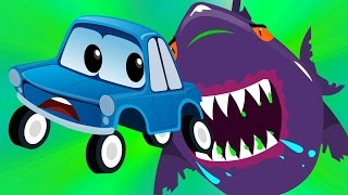 Zeek and friends | scary flying shark | car songs and rhymes for videos