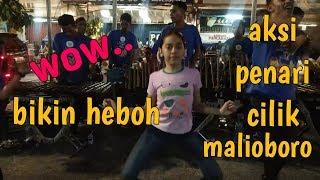 Aksi gadis kecil joget angklung malioboro - lagu sayang 2