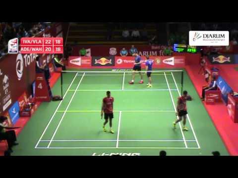 Ade Yusuf/Wahyu Nayaka Arya Pankaryanira (Indonesia) VS Ivan Sozonov/Vladimir Ivanov (Russia)
