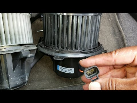 Diy 2008 saturn outlook heater/ac blower motor replacement