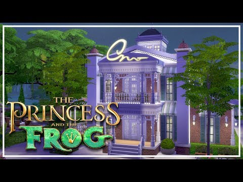 TIANA'S PALACE // The Sims 4: Princess & The Frog Speed Build