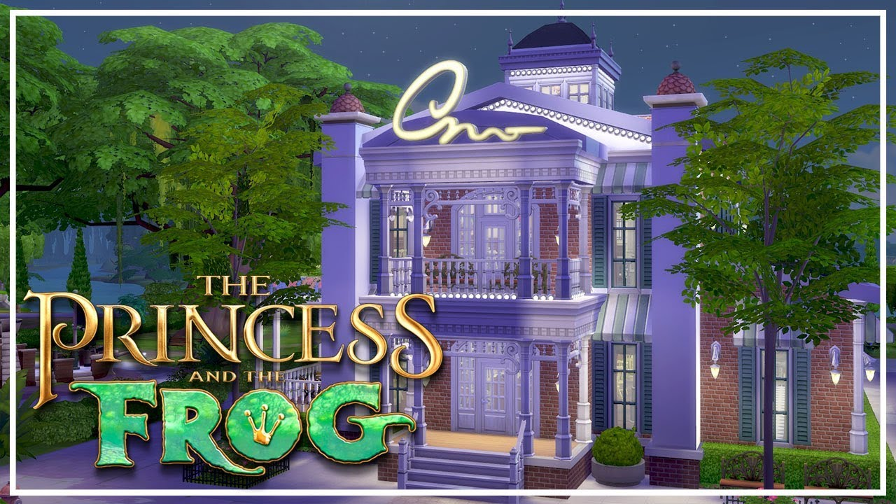 Tiana S Palace The Sims 4 Princess The Frog Speed Build