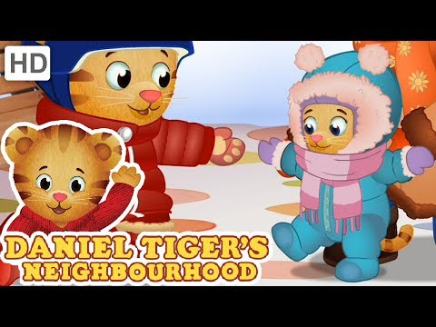 Daniel Tiger ☃️ Let it Snow, Let it Snow, Let it Snow! ❄️ Videos for Kids