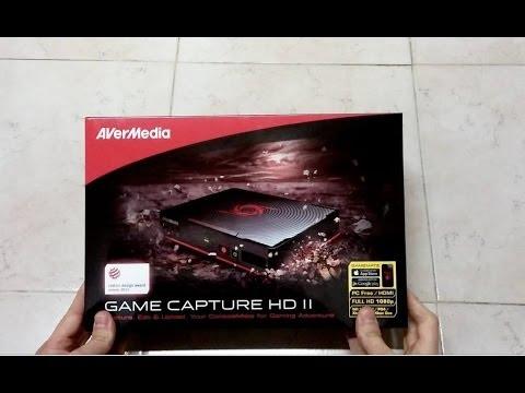 avermedia game capture hd ii manual