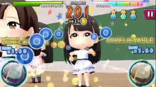 AKB音ゲー 2015.11.7 は岡田奈々さんのお誕生日。 【涙サプライズ】のHA...
