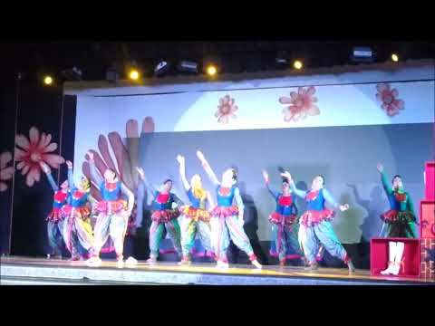 DPS Bokaro girls bagged 2nd place in Inter DPS dance competition, NRITYANJALI 2017 (GYV)