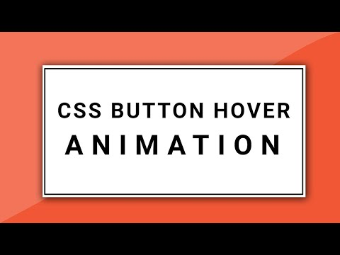 CSS Button Hover Effects | Pure CSS Animation